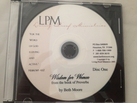 Beth Moore - Living Proof Ministries Wisdom for Women (Christian)